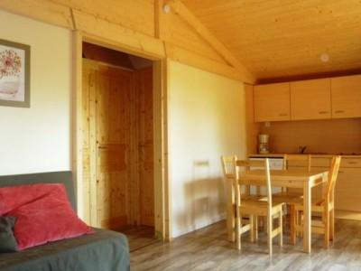 intérieur chalet au camping préfixe