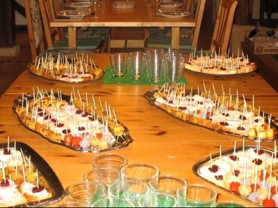 buffet reception